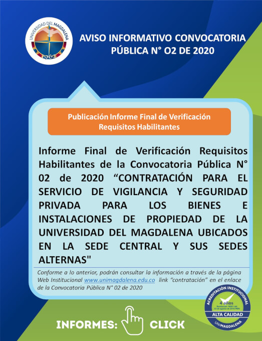 INFORME FINAL DE REQUISITOS HABILITANTES CONV. 02-2020